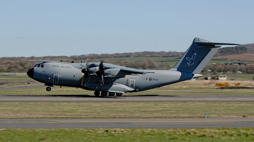RAF  Airbus A400M     ZM406