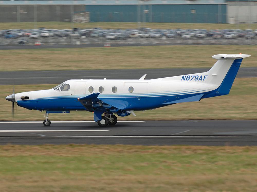 Pilatus  PC-12/47   N879AF (879)