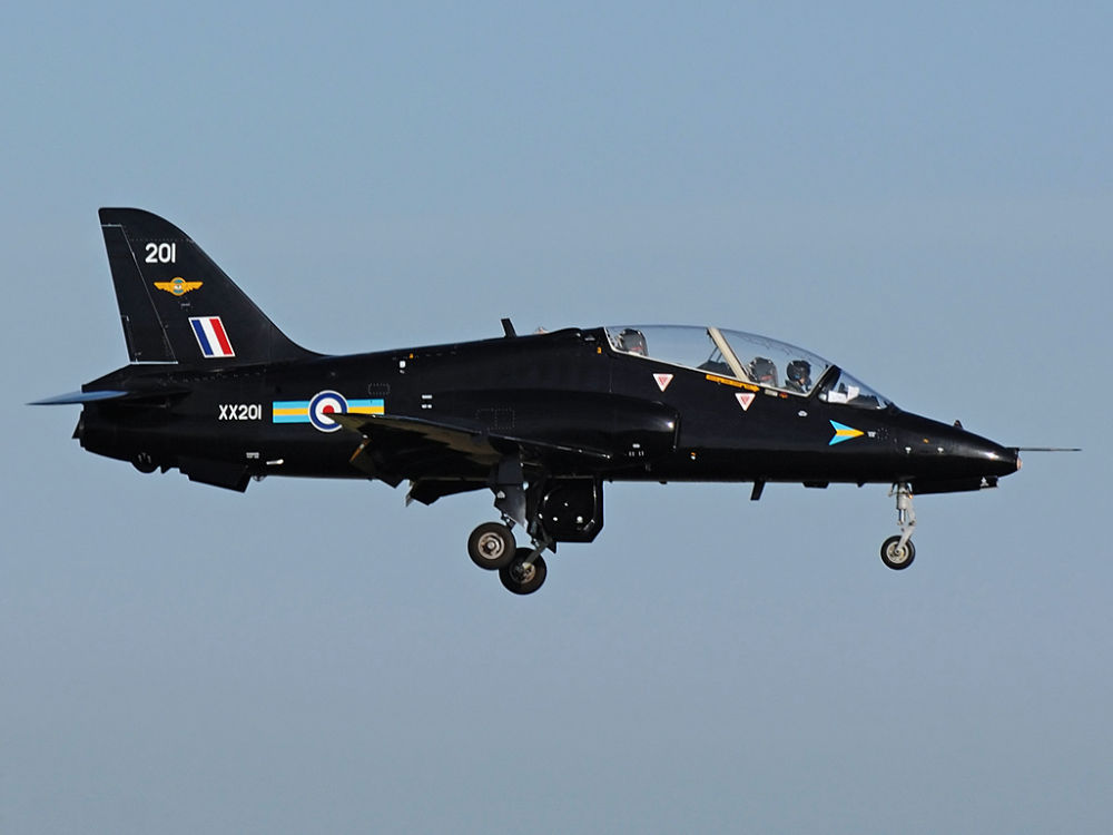RAF  HS Hawk  T1A     XX201