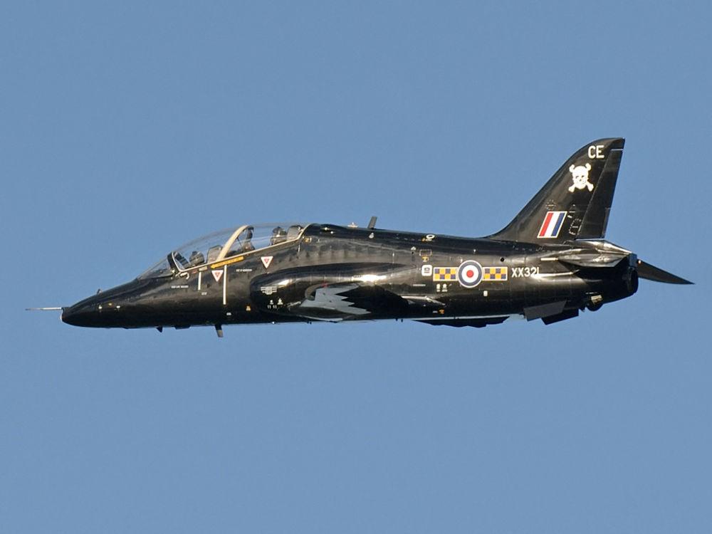 RAF HS Hawk T1A(CF)  XX321