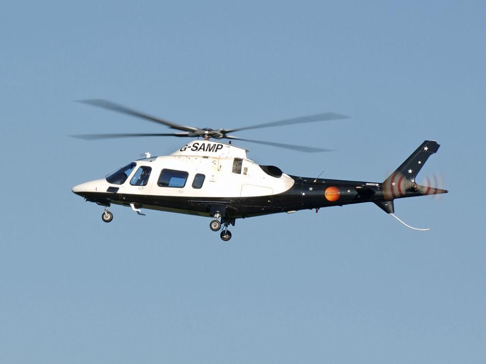Agusta A109E  G-SAMP