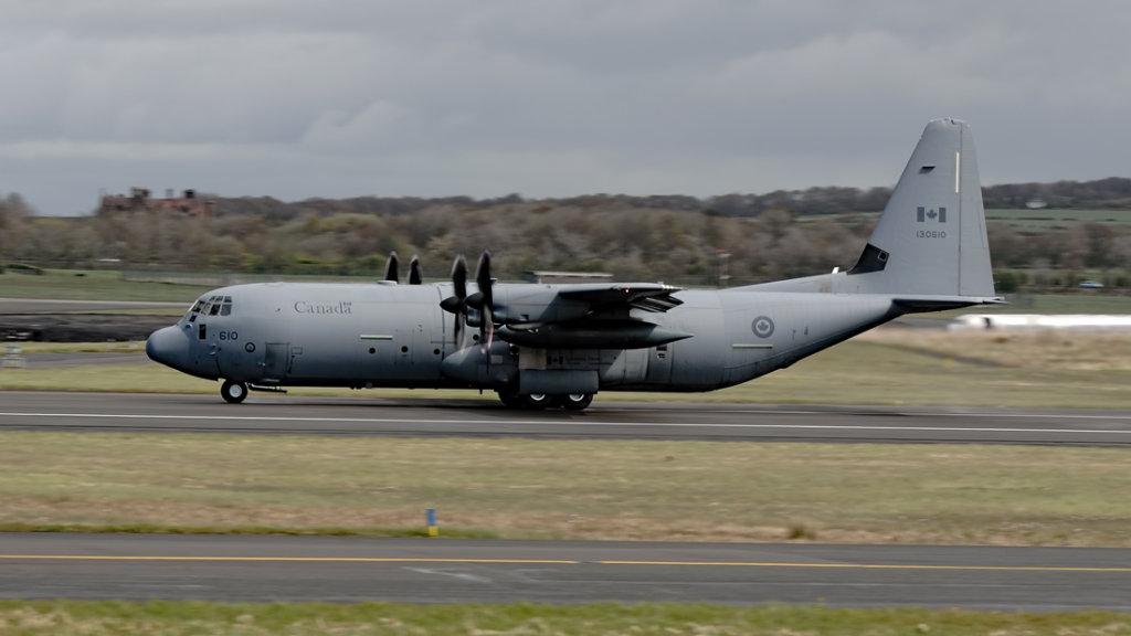 Canadian Forces  Lockheed Hercules  CC-130J-30  130610