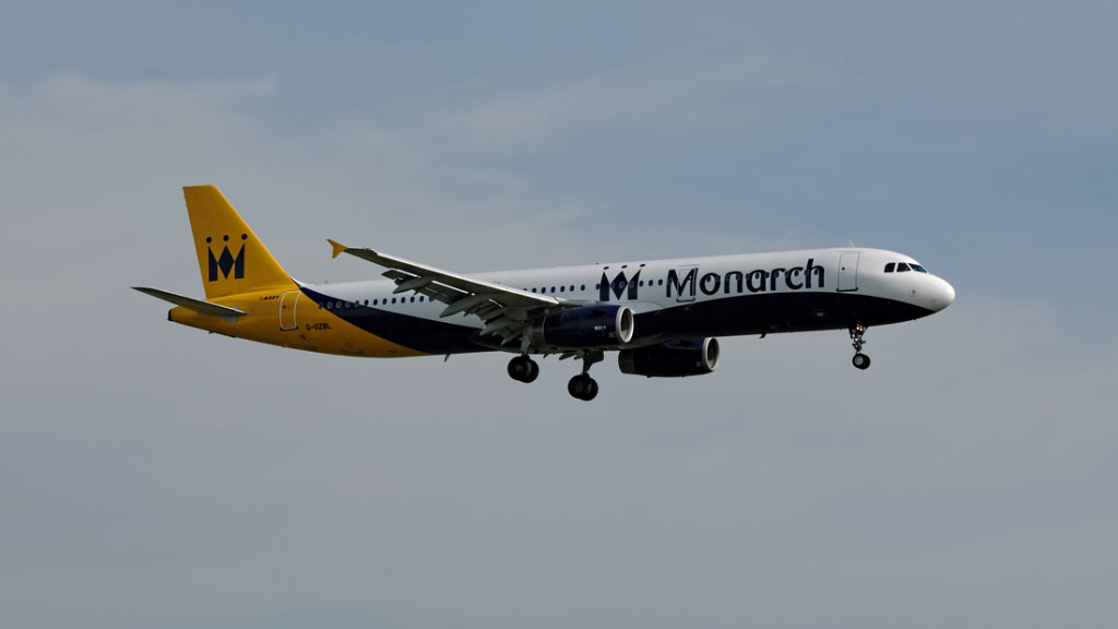 Monarch Airlines    Airbus A.321-231      G-OZBL
