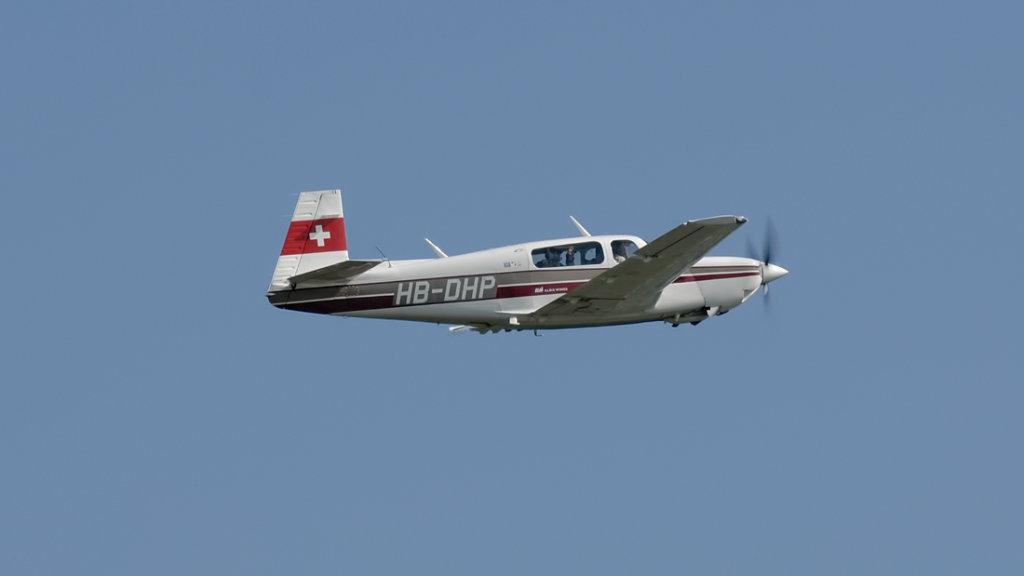 Mooney  M-20K  231  HB-DHP