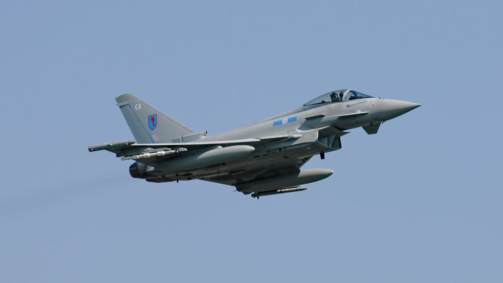 RAF  Eurofighter 2000 Typhoon FGR.4      ZK342