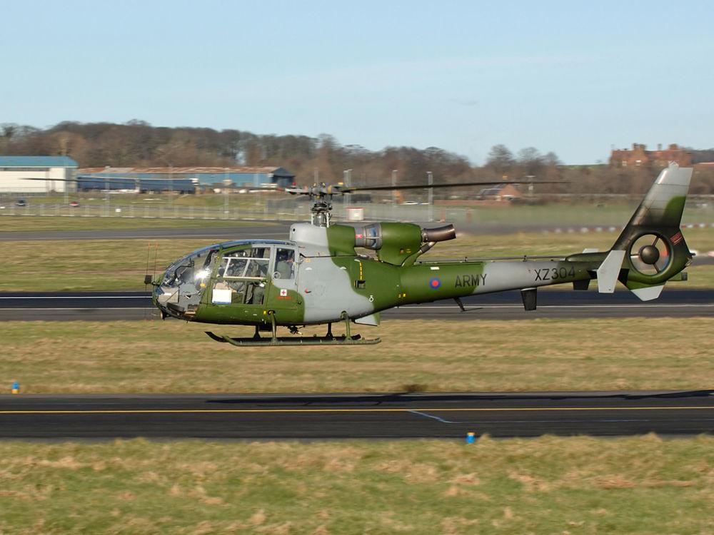 Army Air Corp   WS Gazelle AH1  XZ304