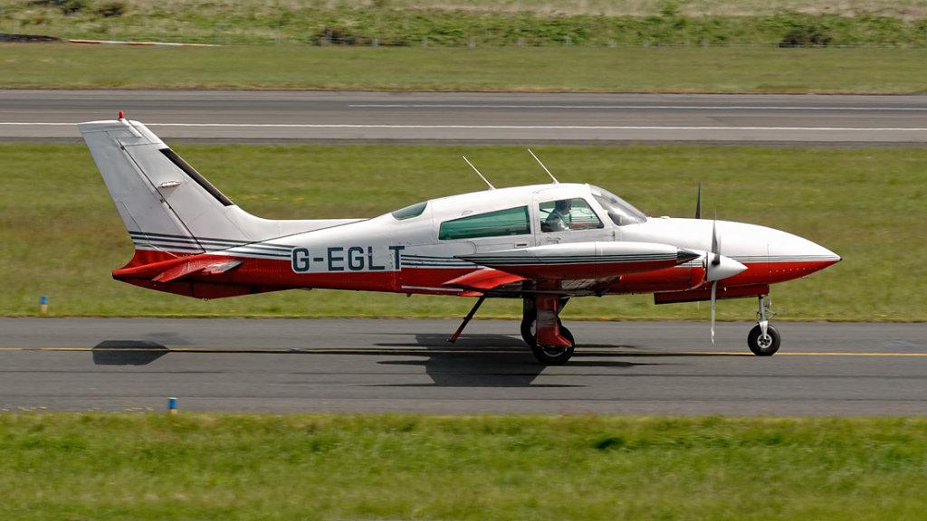 Cessna 310R  G-EGLT