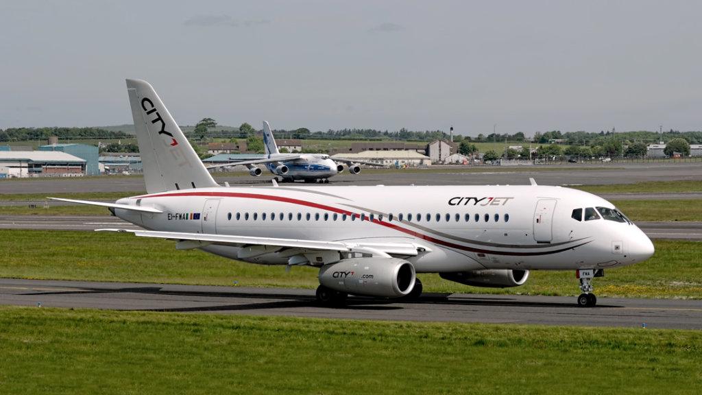 Cityjet  Sukhoi   SSJ 100-95B Superjet   EI-FWA