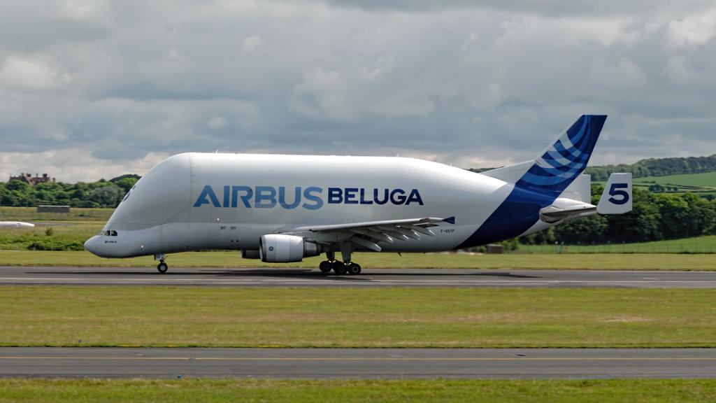 Airbus Transport International  A300-B4-608ST(Beluga)    F-GSTF