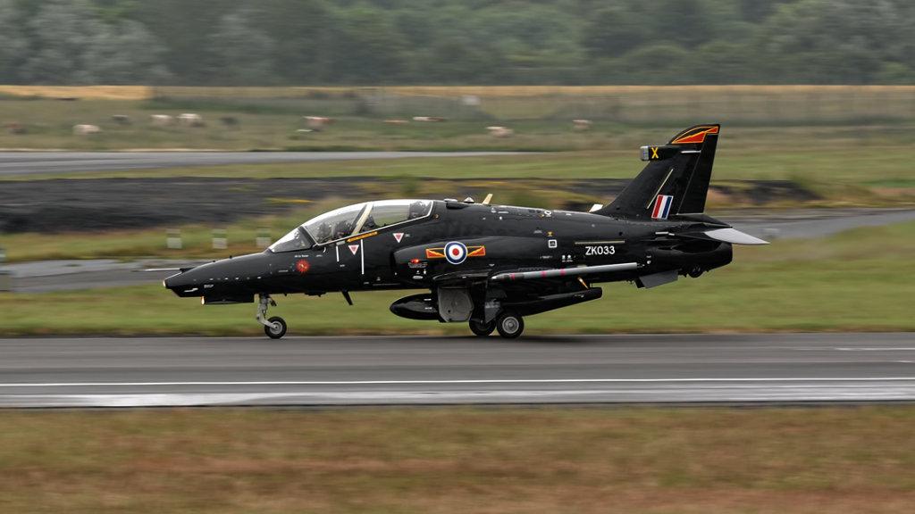 RAF  BAe Hawk 128 T.2   ZK033
