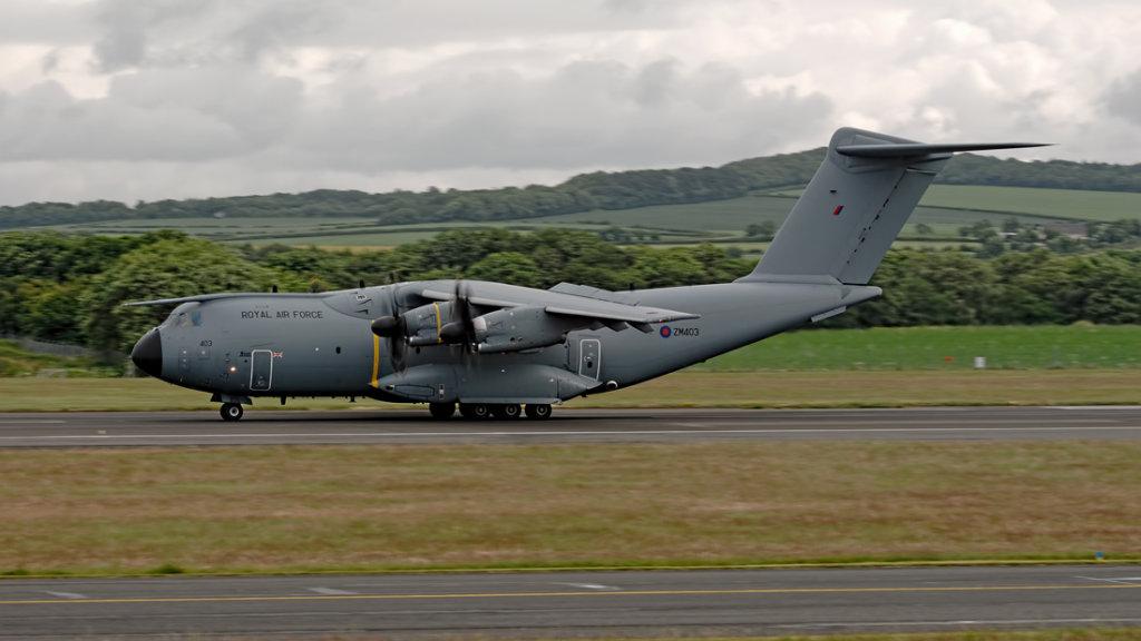 RAF  Airbus A400M     ZM403
