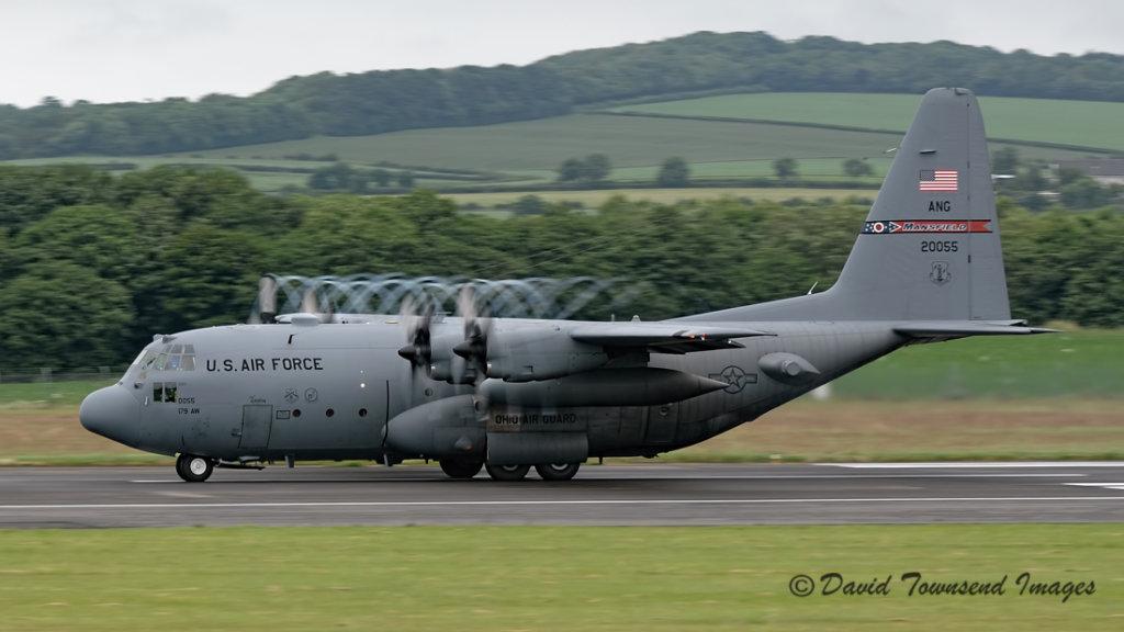 USAF Lockheed C-130H Hercules 82-0055