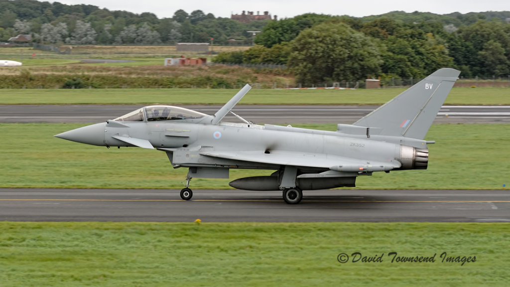 RAF  Eurofighter 2000 Typhoon FGR.4      ZK352