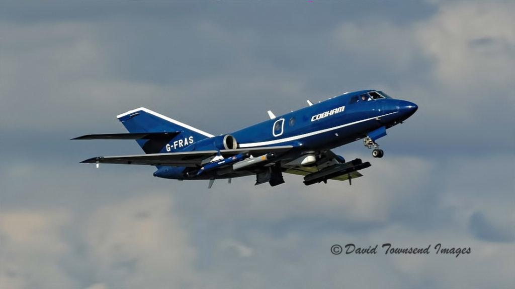 Cobham Leasing   Dassault Falcon 20       G-FRAS