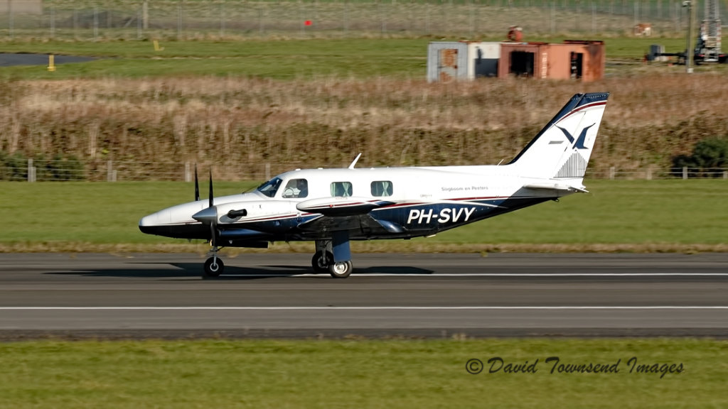 Piper PA-31T  Cheyanne 2  PH-SVY