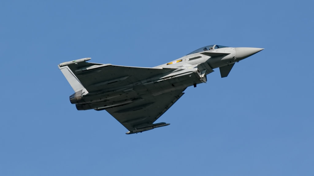 RAF  Eurofighter 2000 Typhoon F.2      ZJ919