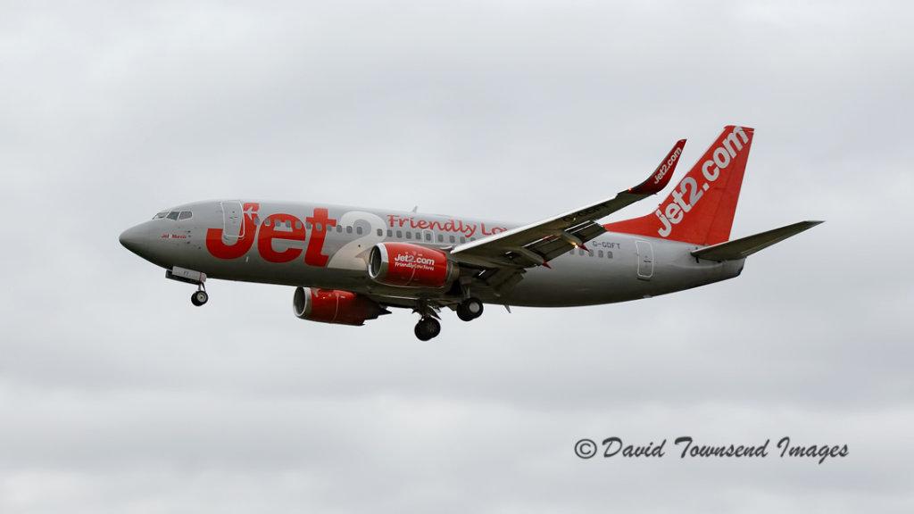 Jet 2 Boeing 737-36Q G-GDFT