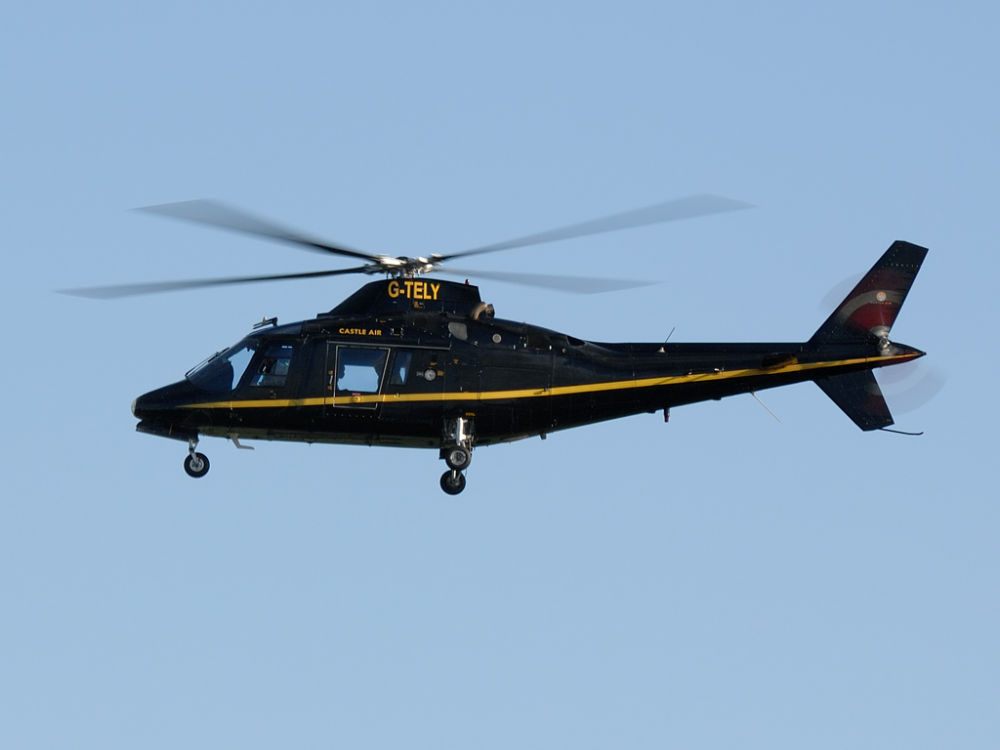 Castle Air Charters Ltd  Agusta A.109AIII  G-TELY