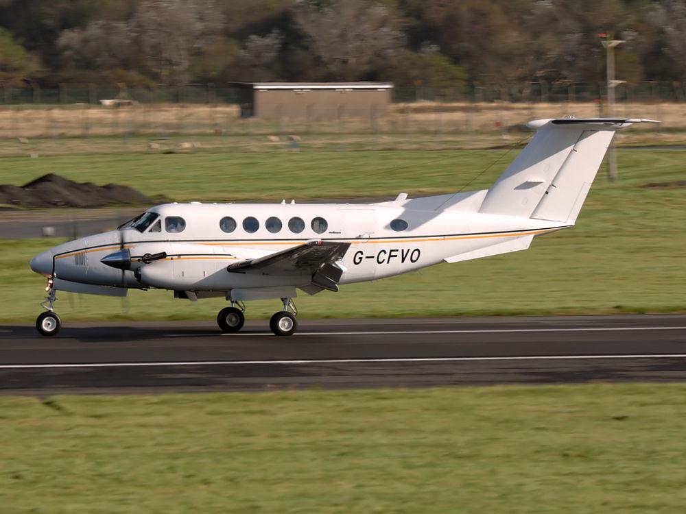Unity Aviation Lt  Beech B200 Super Kingair  G-CFVO
