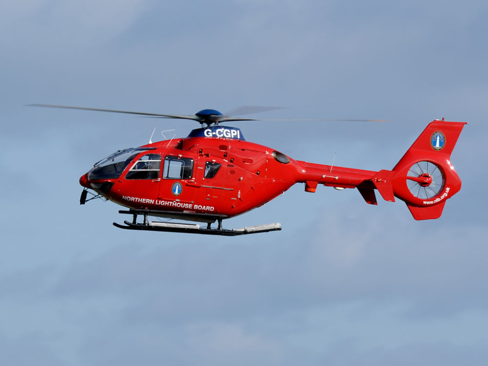 Northern Lighthouse Board  Eurocopter EC-135T2  G-CGPI