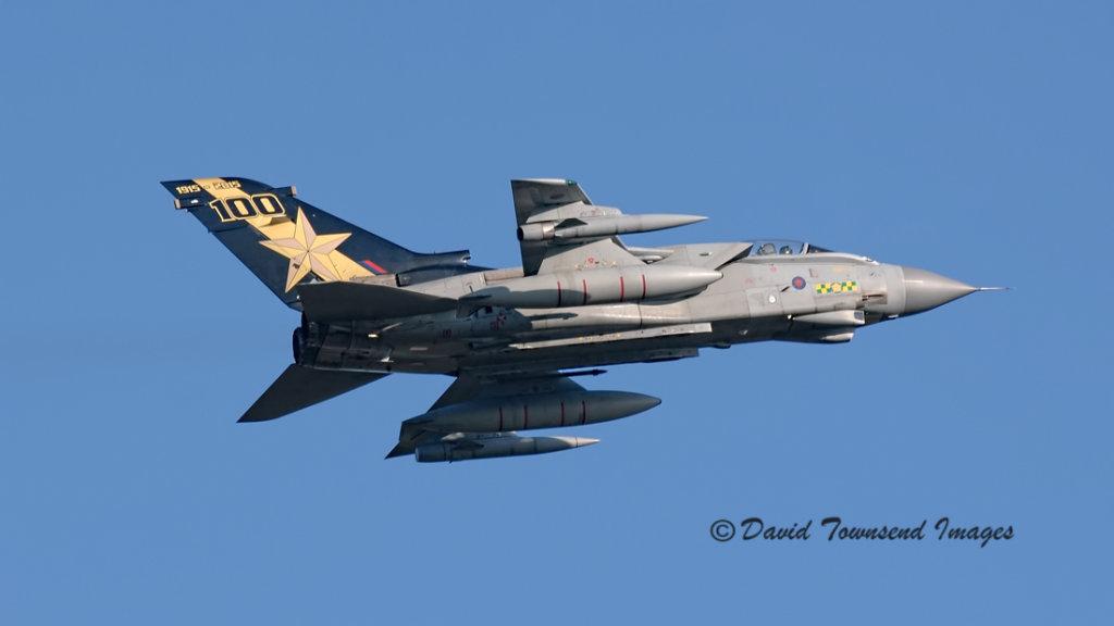 RAF Panavia Tornado GR.4 ZA548