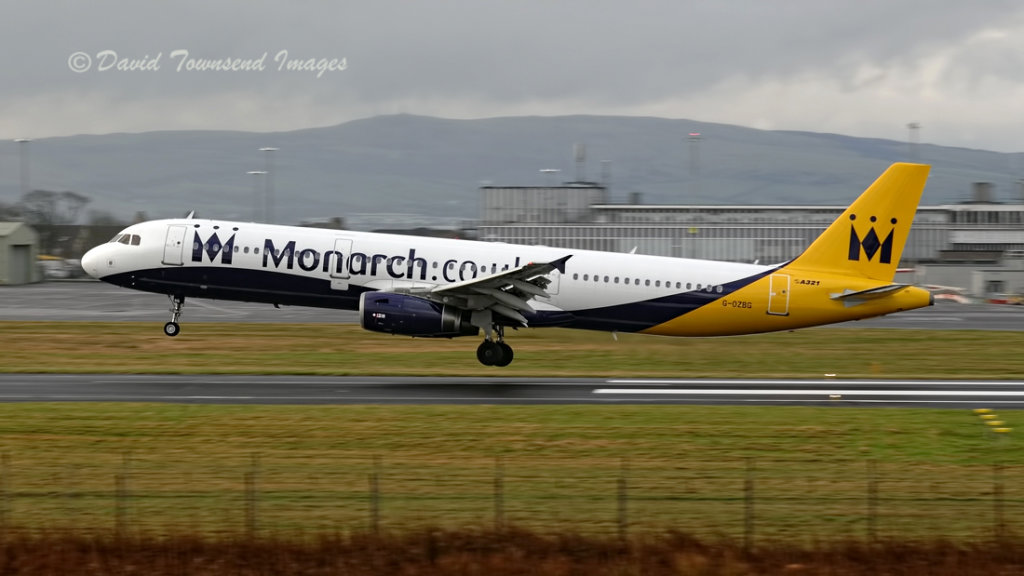 Monarch Airlines   Airbus A.321-231    G-OZBG