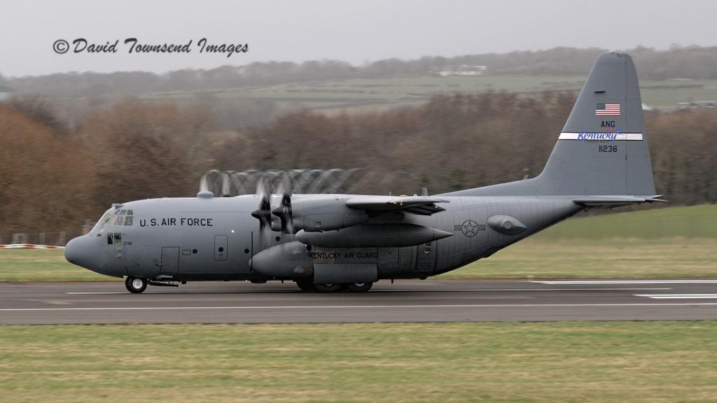 USAF  Lockheed C-130H Hercules    91-1238