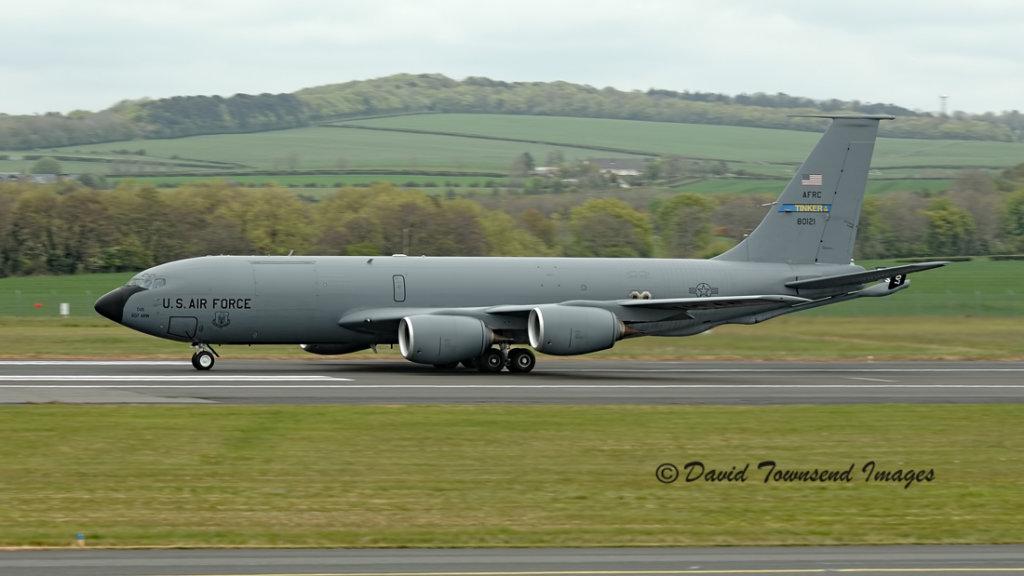USAF  Boeing KC-135R   58-0121