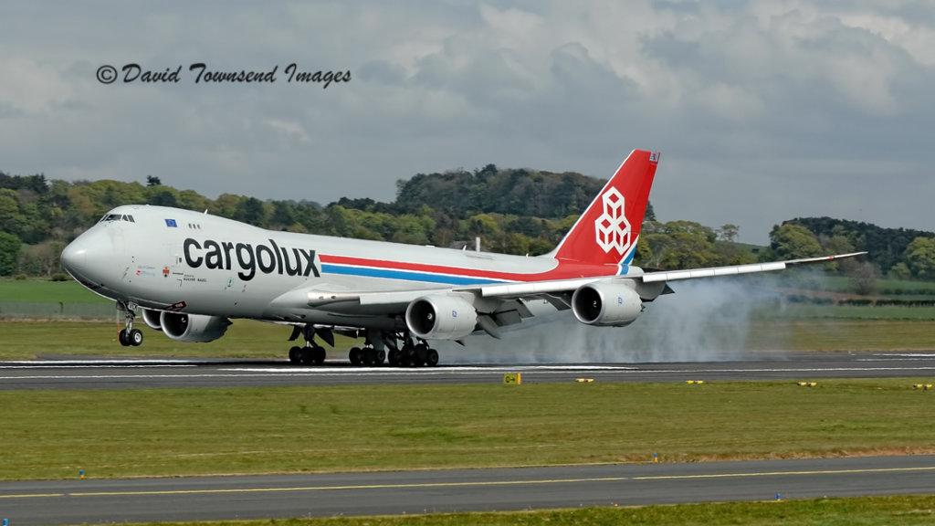 Cargolux Boeing 747-8R7F  LX-VCK