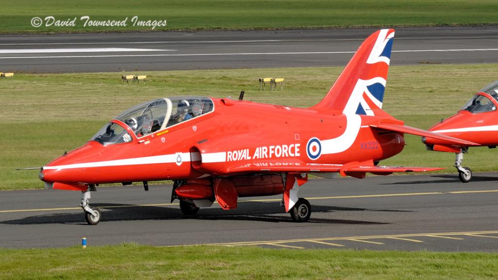 RAF  BAe Hawk T1A  XX322