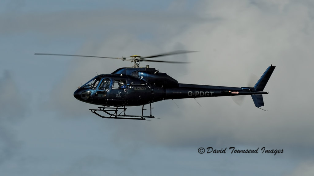 PDG Helicopters  Aerospatiale   AS355F2   G-PDGT
