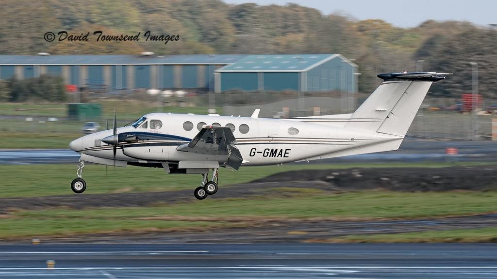 Gama Aviation    Beech Super Kingair B200     G-GMAE