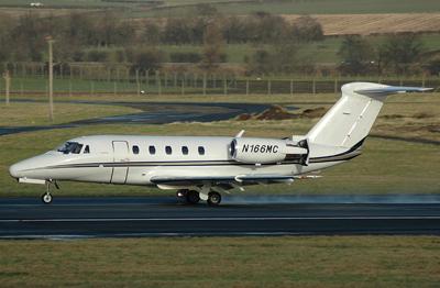 Cessna 650  N166MC