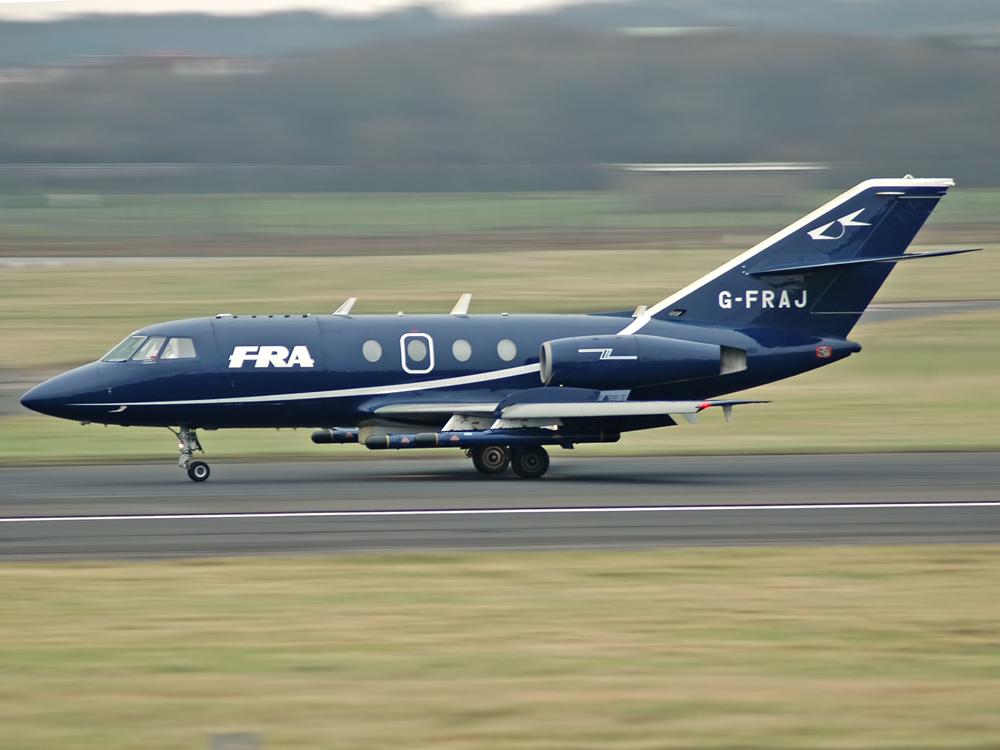 Dassault Falcon 20E  G-FRAJ
