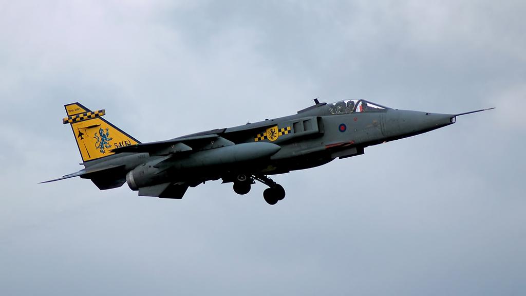 RAF SEPECAT Jaguar GR3A (GA) XZ112