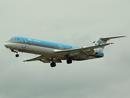 K.L.M CityHopper Fokker 100 PH-OFK