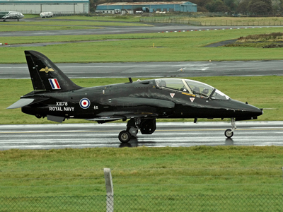Royal Navy HS Hawk T1W  XX178