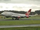 "Virgin Atlantic Boeing 747-41R G-VROC ""Mustang Sally"""