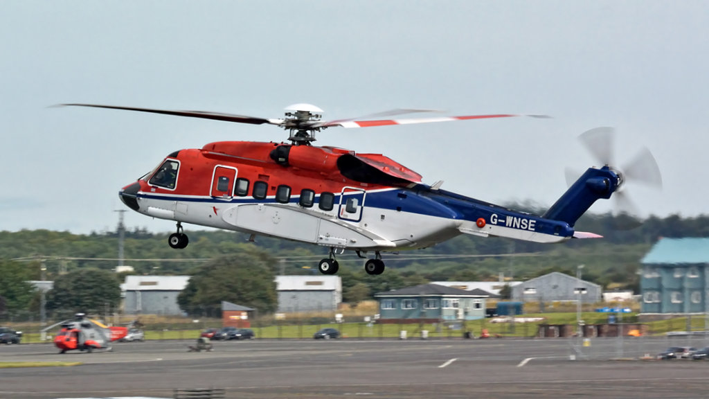 CHC Scotia   Sikorsky S-92A  G-WNSE