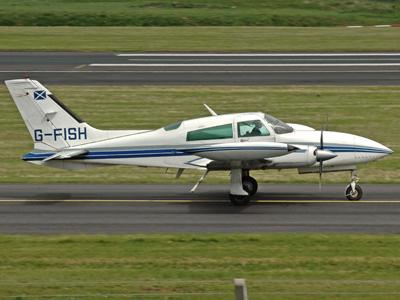 Cessna 310R-II G-FISH