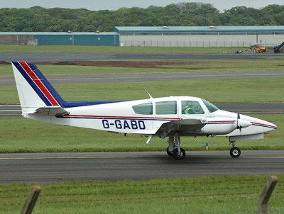 GA-7 Cougar  G-GABD
