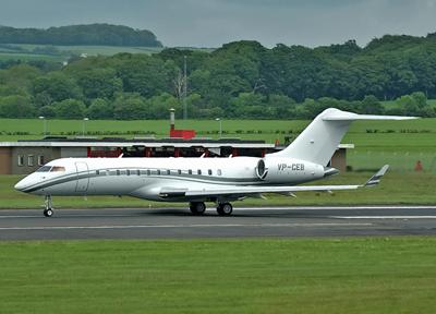 Bombardier BD-700 IA10 Global Fair  VP-CEB