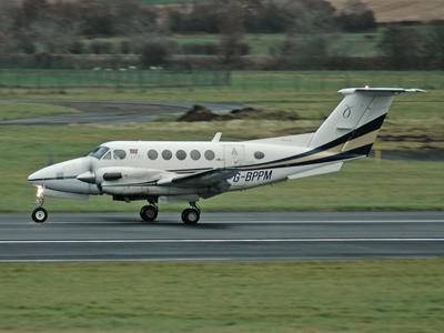 Beech B200 Super King Air<br> G-BPPM