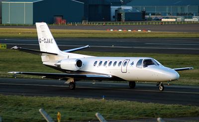 Cessna 560 Citation V  G-CJAE