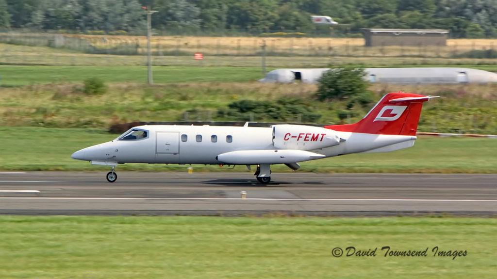 Gates Lear Jet 36A   C-FEMT
