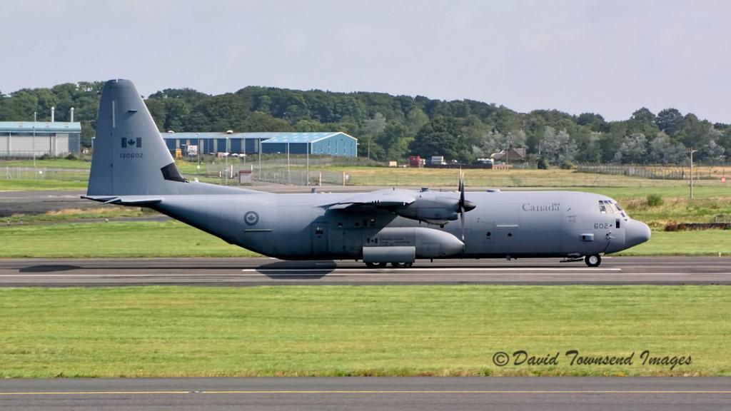Canadian Forces  Lockheed Hercules  CC-130J  130602