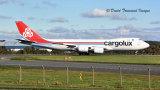 Cargolux Boeing 747-8R7F  LX-VCJ