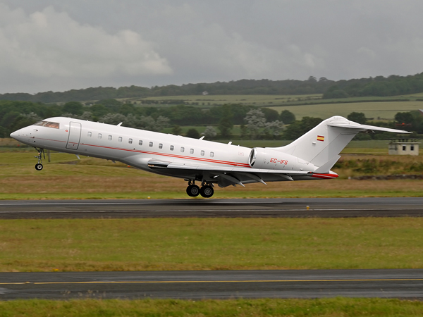 Gestair S.A    Bombardier  BD-700 1A10 Global Express    EC-IFS