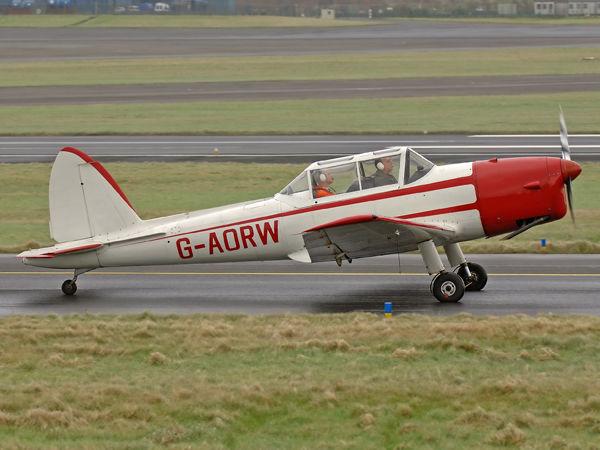 DeHavilland DHC-1 Chipmunk     G-AORW(WB682)