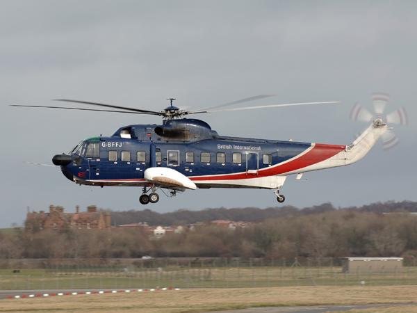 Sikorsky S-61N MK11  G-BFFJ